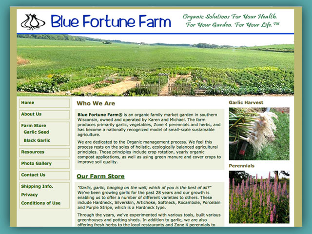 Website: Blue Fortune Farm