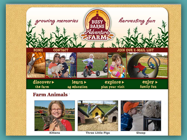 Website: Busy Barns Adventure Farm