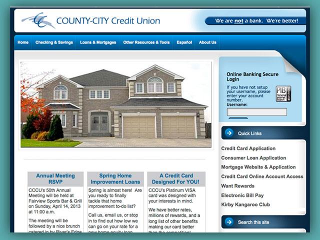 Website: County-City Credit Union