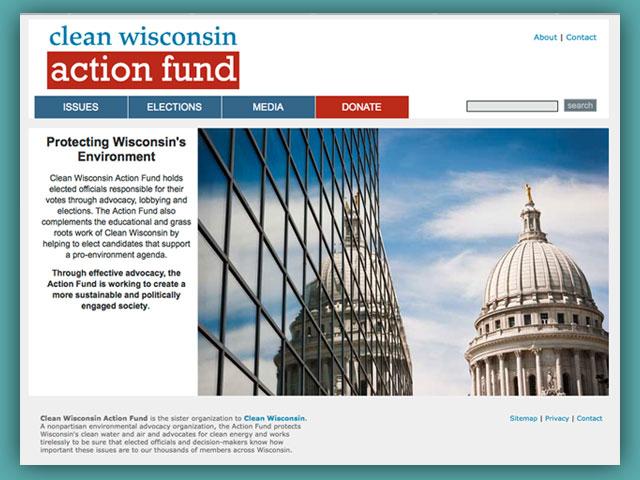 Website: Clean Wisconsin Action Fund