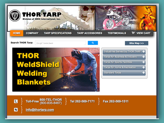 Website: THOR Tarp